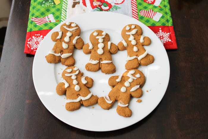 Gingerbread Babies With Buttercream
